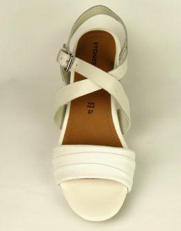 Бял дамски сандал STONEFLY