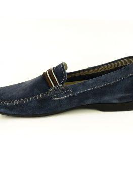Мъжки мокасини STONEFLY - син велур