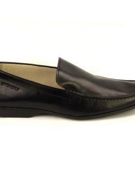 Елегантни мъжки мокасини STONEFLY - черен цвят