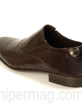 Елегантни мъжки обувки Sara Pen - цвят махагон