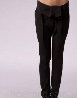 Дизайнерски дамски панталон La speciale с коланче