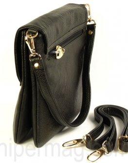 Ежедневна дамска чанта - цвят черен