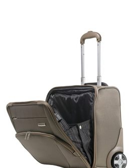 Бизнес чанта Samsonite X'Pression 45 см. на 2 колела за 16.4 инча лаптоп (шампанско)