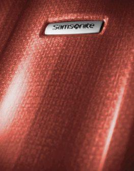 Куфар Samsonite на 2 колела Cubelite 74 см (тъмно червен)