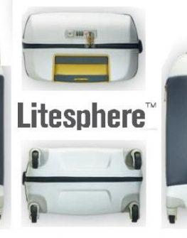 Куфар Samsonite на 2 колела Litesphere 55см. (сребро/титан)
