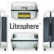 Куфар Samsonite на 4 колела Litesphere 55см. (сребро/титан)
