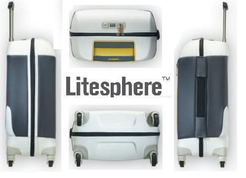 Куфар Samsonite на 4 колела Litesphere 65см. (сребро/титан)