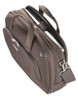 Бизнес чанта Samsonite X'ion3 за 16 инча лаптоп (кафяв)