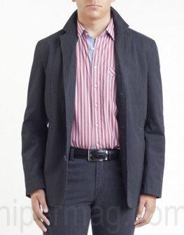 Мъжко сако Styler в черен цвят.