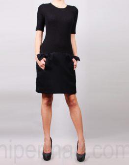 Дизайнерска рокля в черно La Speciale