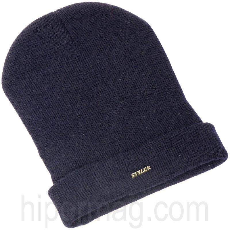 Мъжка шапка STYLER – синьо