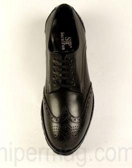 Елегантни мъжки обувки Sara Pen - черни