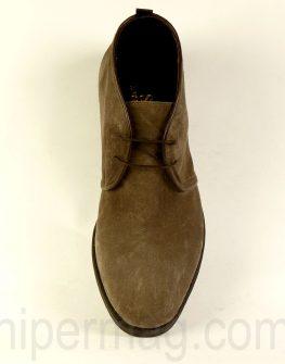 Високи мъжки обувки Sara Pen - визон