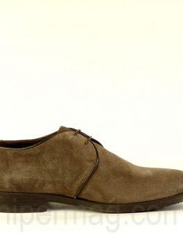 Изчистени мъжки обувки Sara Pen - визон