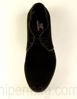 Изчистени мъжки обувки Sara Pen - черни