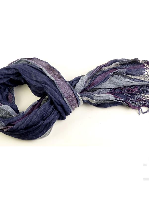 Унисекс шал STYLER - утенъци на лилавото