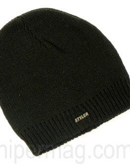 Мъжка шапка STYLER - черна