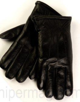 Мъжки кожени ръкавици STYLER - черни