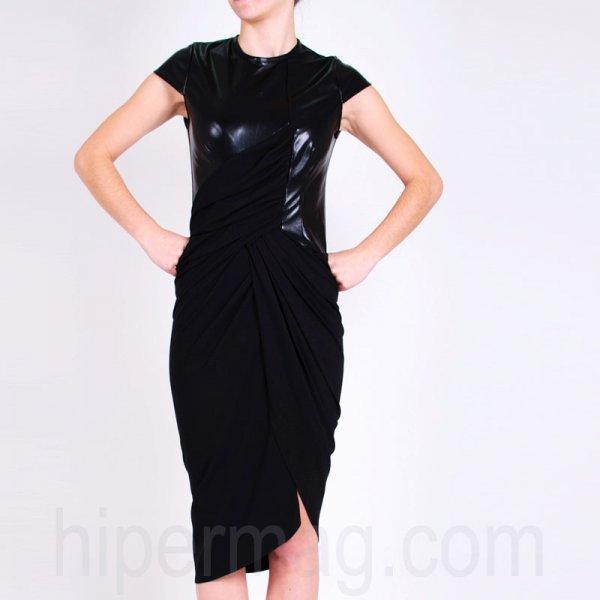 Дизайнерска рокля от La Speciale с цип на гърба