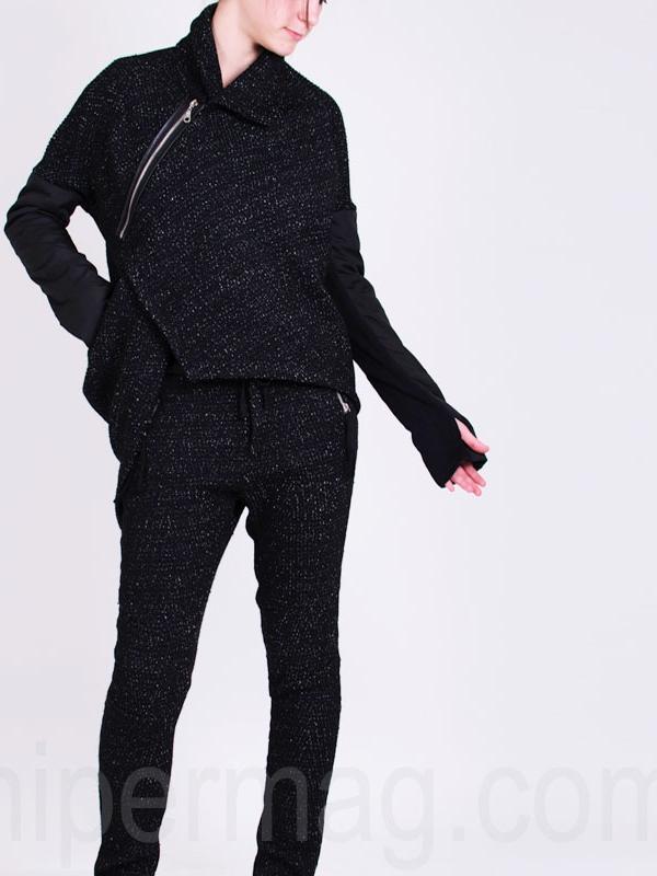 Дамска жилетка La Speciale с асиметричен цип