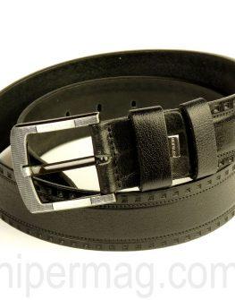 Спортно елегантен мъжки колан STYLER - черен