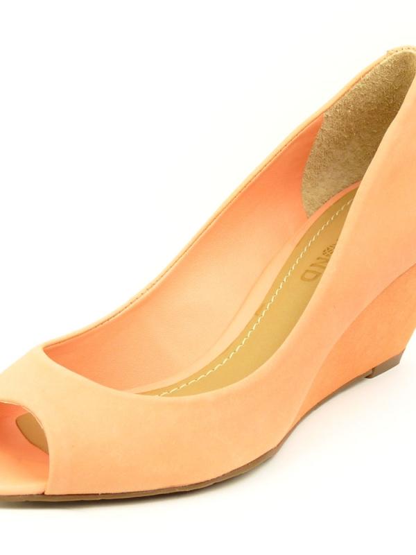Дамски обувки с ток DUMOND в розов цвят