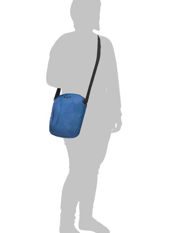Чанта за рамо за 9,7 инча таблет Samsonite Duo Plyer (син)