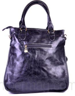 Красива голяма чанта в черен цвят