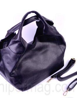Семпла дамска чанта в черно
