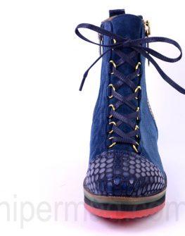 Цветни спортни обувки с връзки - Sara Pen