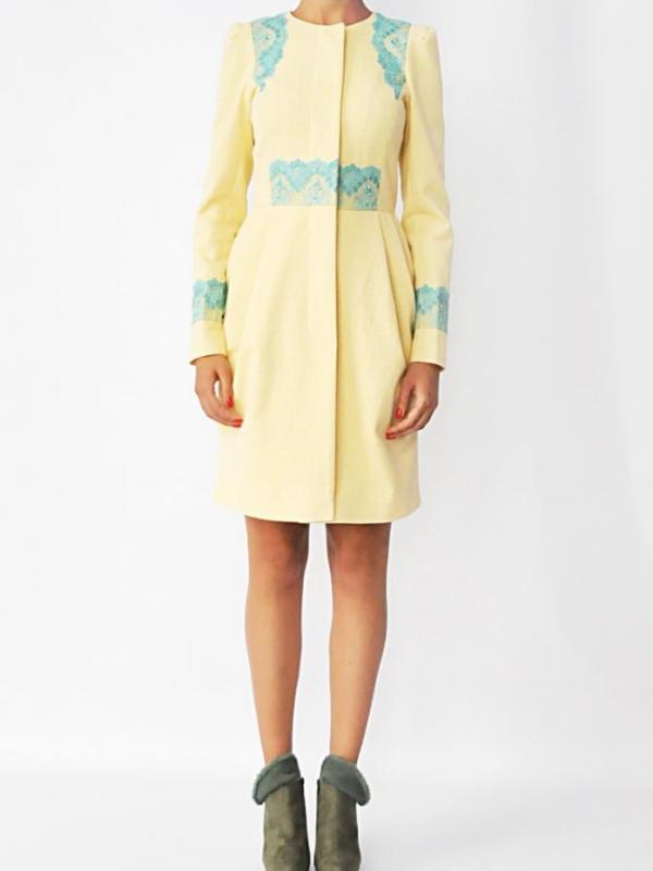 """Елегантно дамско палто """"Edel"""" - от HANNA"""