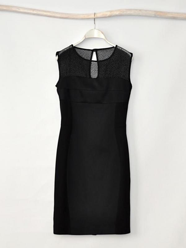 """Елегантна черна рокля """"Doris"""" - от HANNA"""
