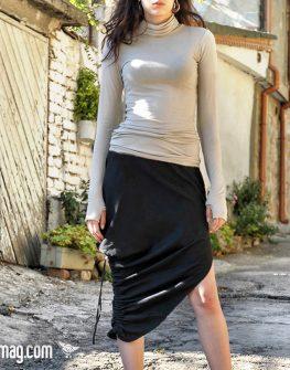 Екстравагантна черна пола – от La Speciale