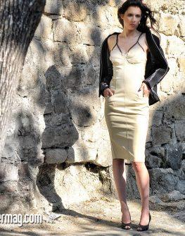Елегантна рокля с тесни презрамки – от La Speciale