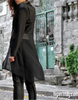 Нежно дамско сако от жоржет и шифон - от La Speciale