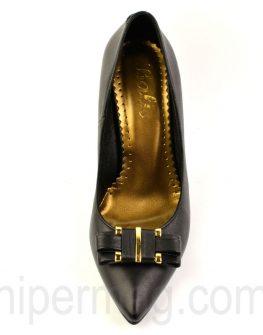 Стилни черни обувки - от Balis