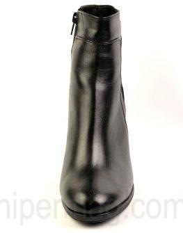Черни боти от гладка естествена кожа - от Balis