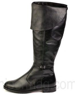 Черни дамски чизми Balis