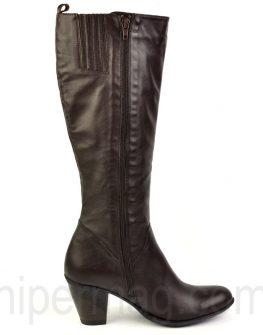 Дамски ботуши Balis - тъмно кафяв цвят