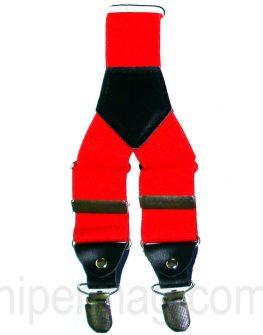 Тиранти в ярък червен цвят - от Styler