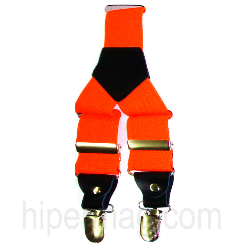 Оранжеви тиранти от новата колекция на Styler