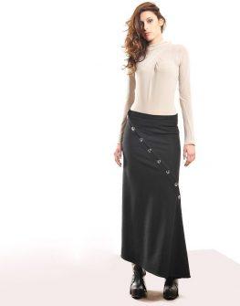 Дизайнерска ризатуника в черен цвят La Speciale