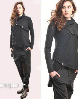 Дизайнерска кожена пола La Speciale
