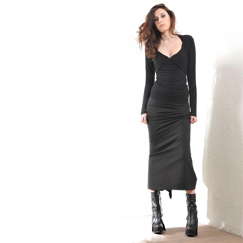 Дълга черна пола – от La Speciale