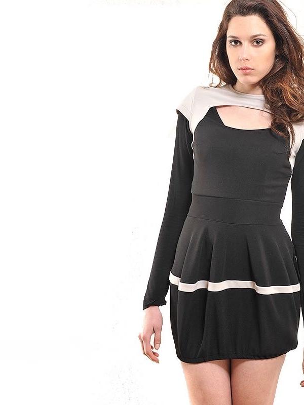 """Къса рокля """"балонче"""" – от La Speciale"""