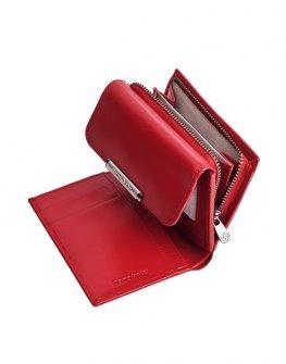 Интересен и стилен дамски портфейл Samsonite, (червен)