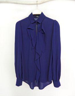 """Тъмно синя риза """"SOPHIE"""" - от HANNA"""