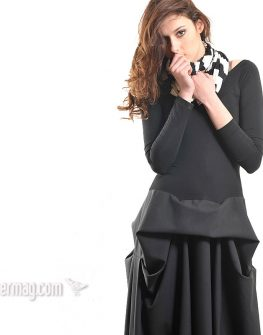 Дълга рокля с разчупена линия – от La Speciale