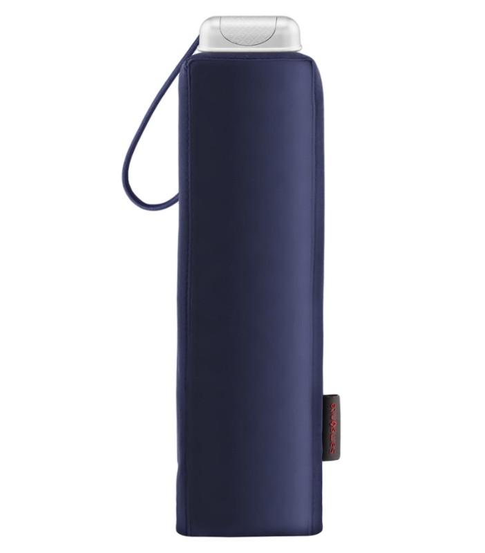 Тъмносин тройно сгъваем чадър Samsonite