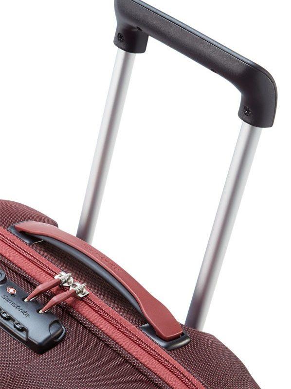 Куфар Samsonite на 2 колела Motio, 50см.- червен цвят